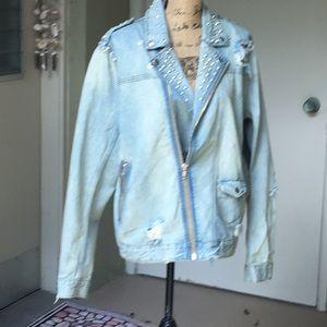 VIVIDED Jeans Jacket💈☑️✔️🌈💫